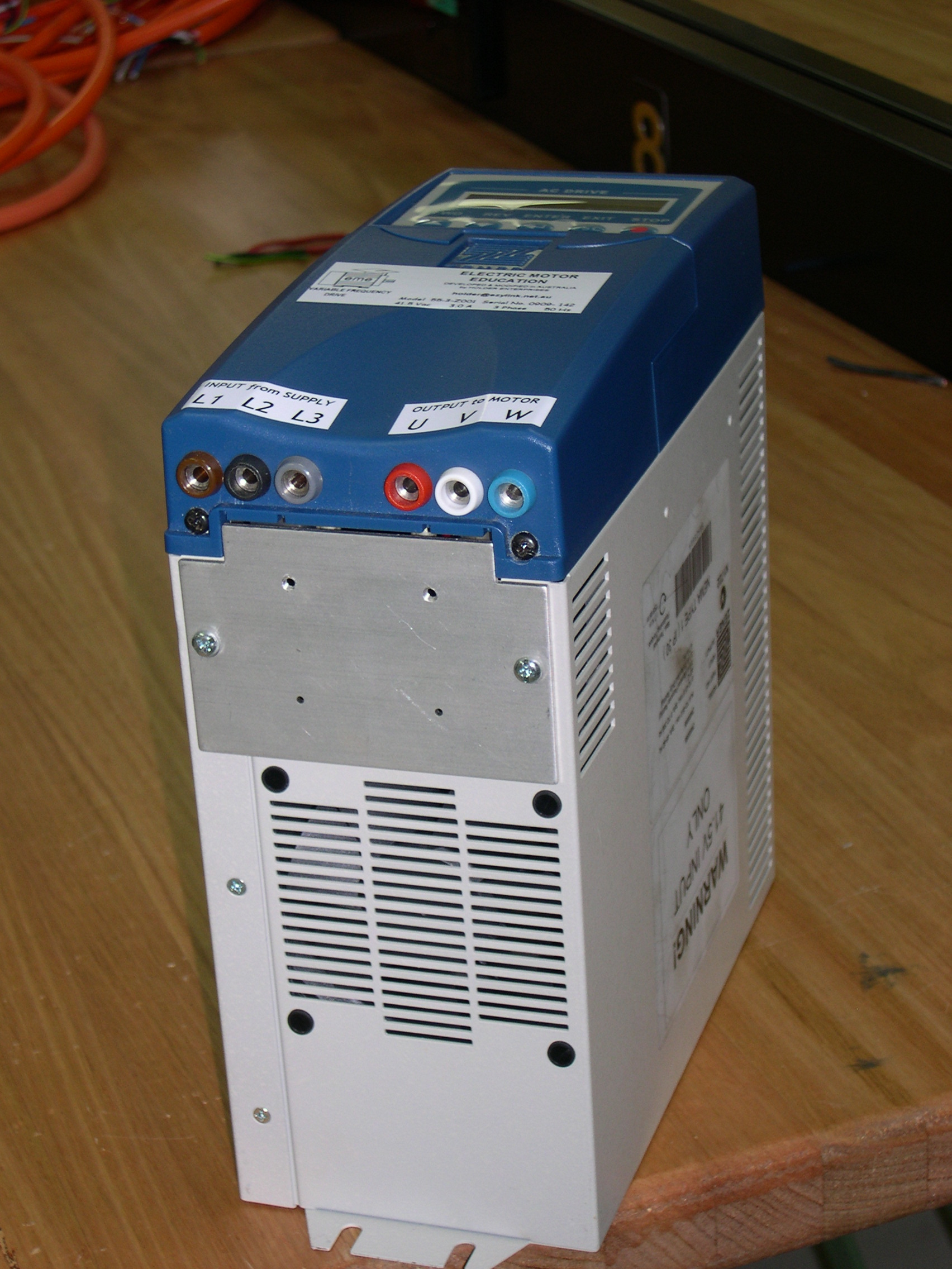 55-3-Z003 : Power supply - 3 phase, Variable Frequency Drive Image