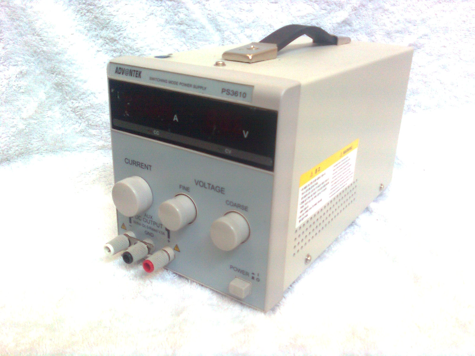 3610-0-T001 : Power Supply - Regulated, 0 > 36Vdc, 10A Image