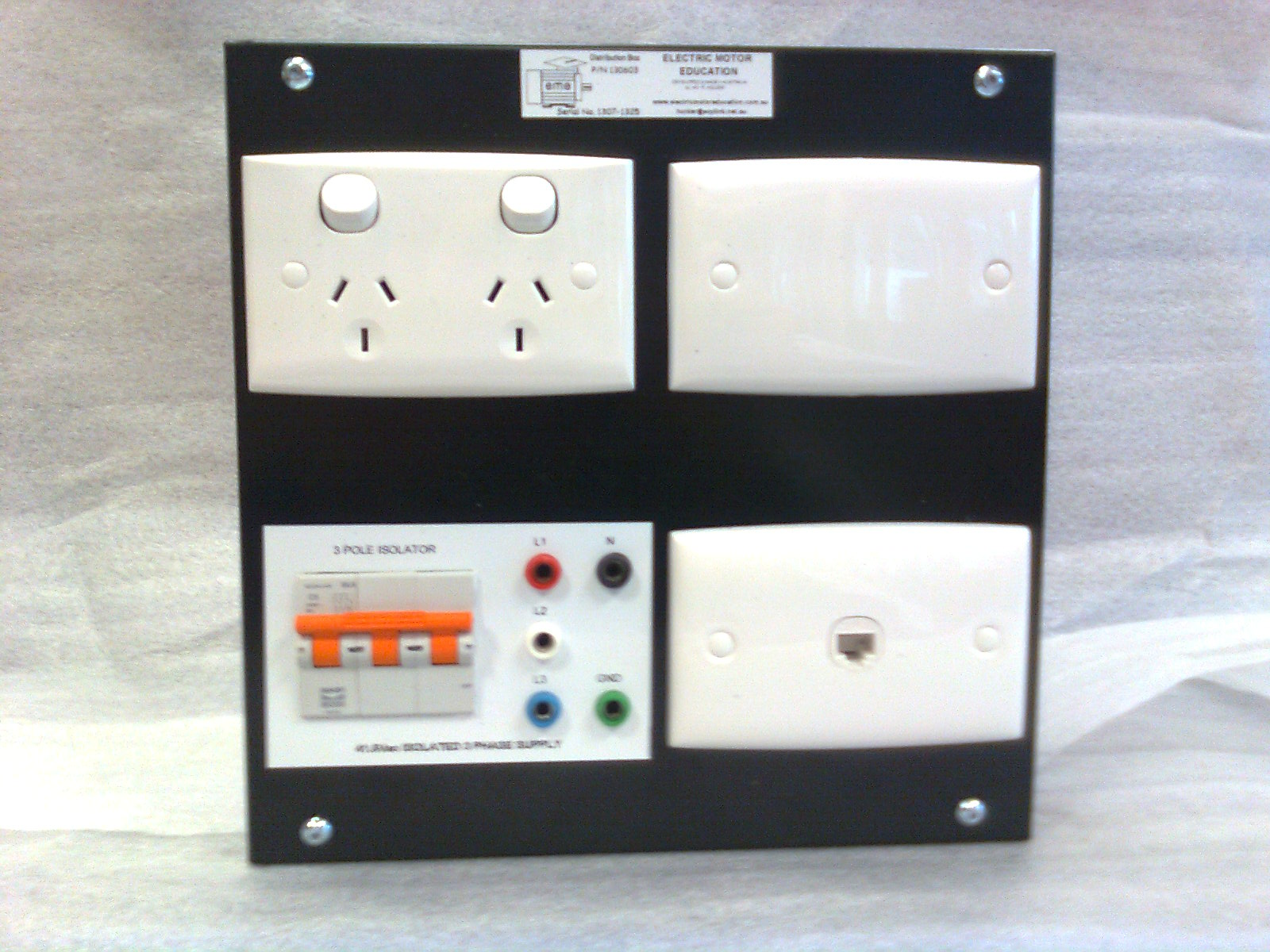130603 : Power Supply - Distribution Box Image