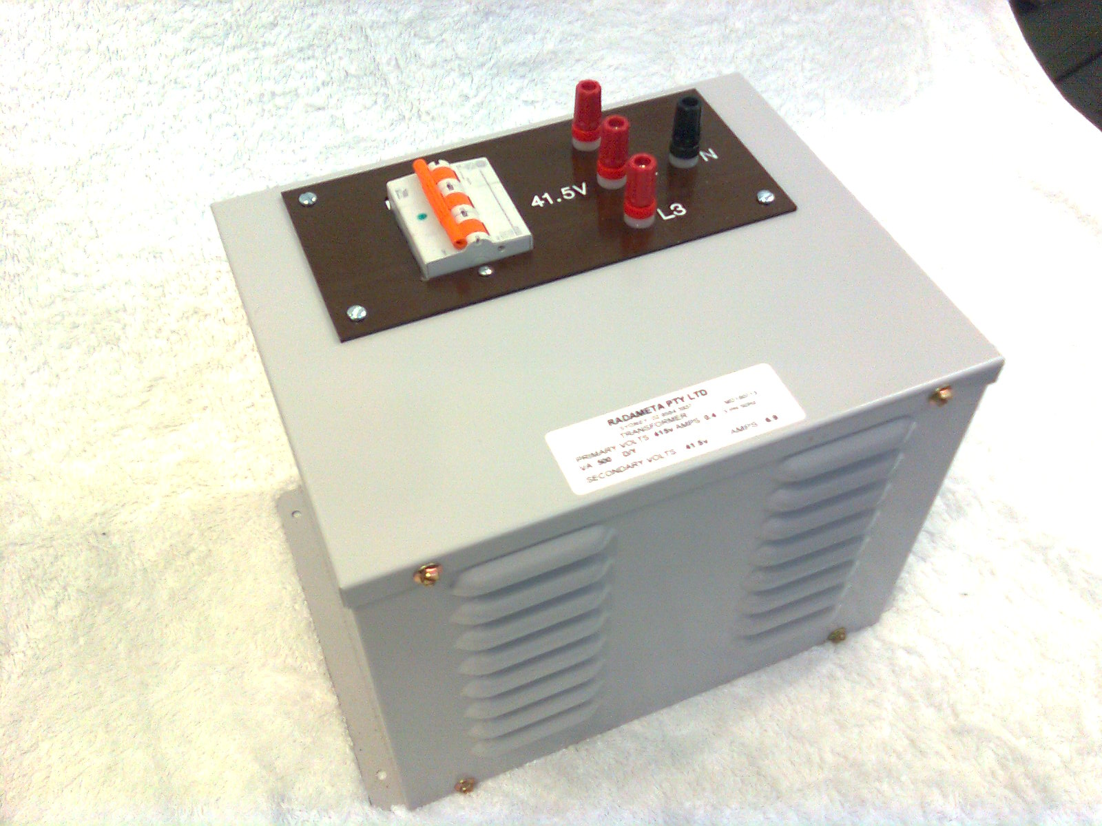 4210-3-SD001B : Power Supply - 3 Phase, 500VA, 415 / (41.5/24)Vac Image