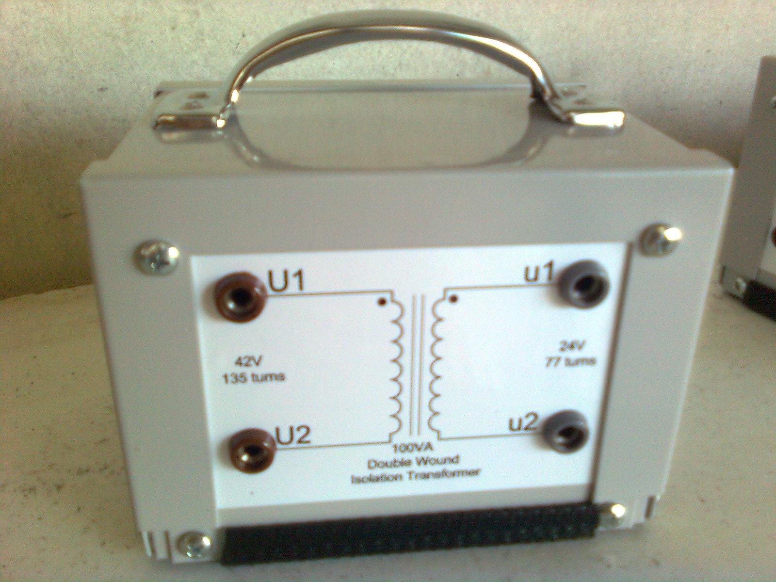 4204-1-SD003 : Transformer - Single Phase-100VA, 42/24Vac Image