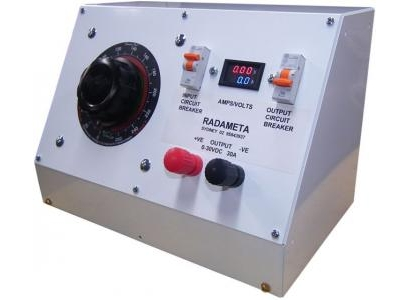 3030-03-SD001 : Power Supply - Unregulated, 0 > 30Vdc, 30 A - Heavy Duty Image