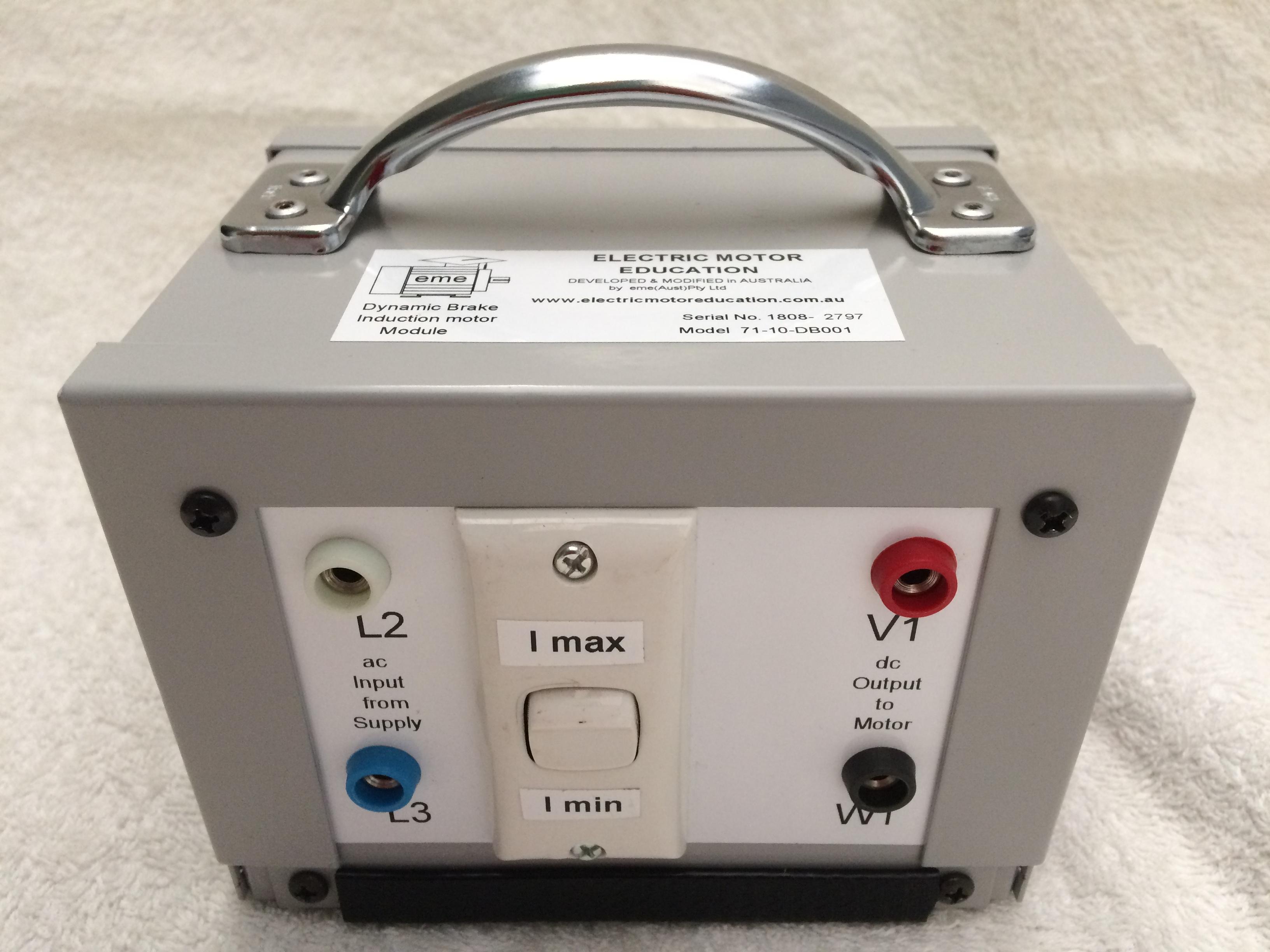 71-10-BD002 : Dynamic Brake - Induction Motor Module Image